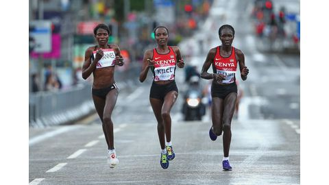 Poor performance by runners at IAAF