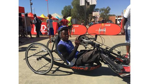 Changing lives through wheelchair basketball