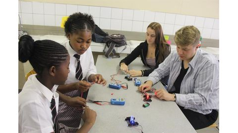 German, Namibian learners collaborate