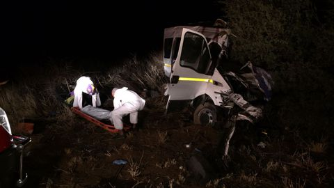 Six killed in crash
