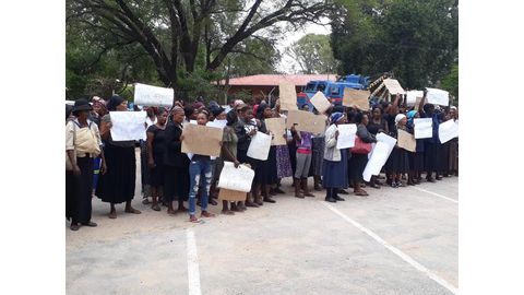 Tsumeb protest disrupts court proceedings