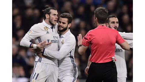 Red card unfair, claims repentant Bale
