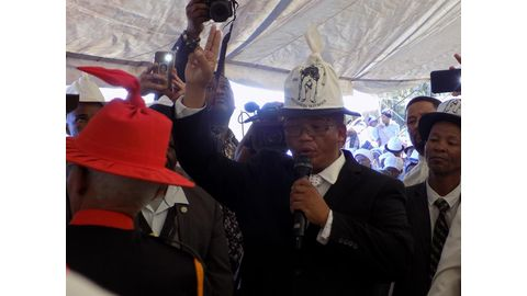 Trouble brews over Witbooi coronation