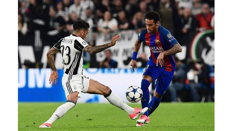The Catalans face Juventus