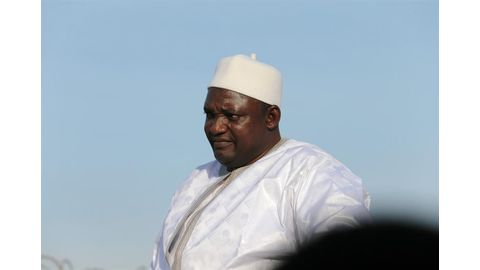 Gambia's Barrow allows coup plotters back into arm