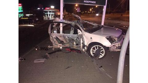 CITY CRASH CLAIMS TWO