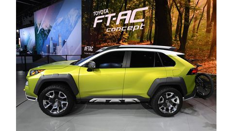 Toyota concept takes outdoor fun to new levels