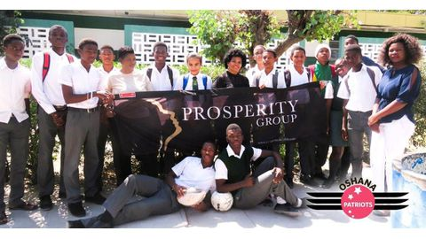 Prosperity Health – Supporting Namibia's youth through the #Festival