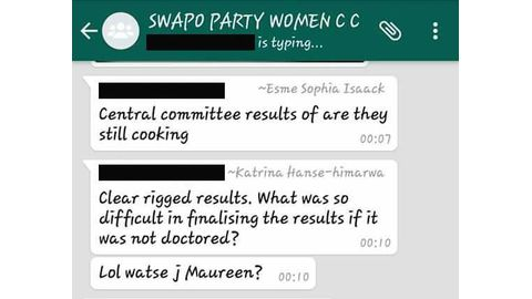Chaos over SPWC results