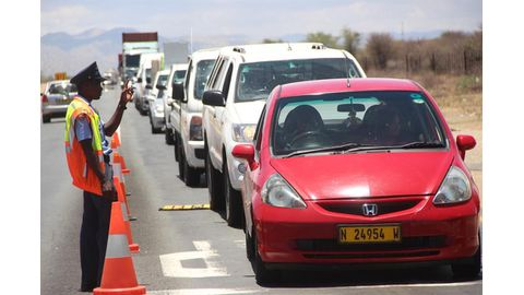 Police caution holiday road users