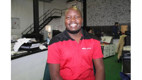 Haukambe's resilience an Afrox asset