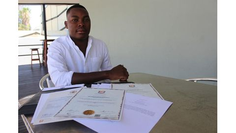 Hope rekindled for jobless graduate