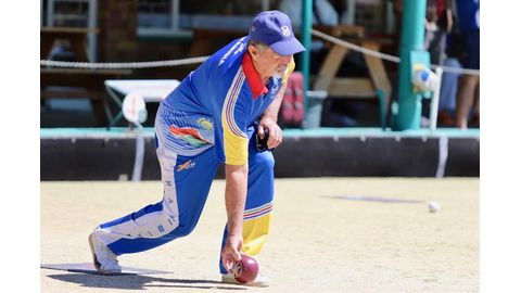 Namibia's lawn bowlers dominate