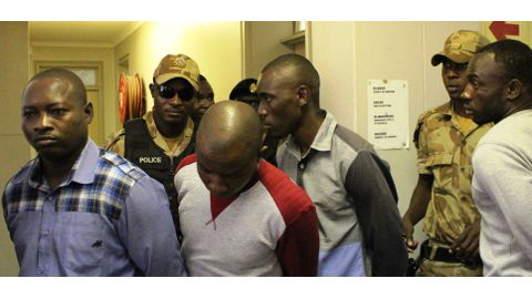 Murder suspects allege abuse