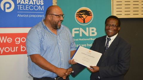 FNB Namibia backs cyber security competition