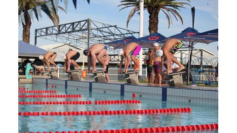 Long-course swimming season ends