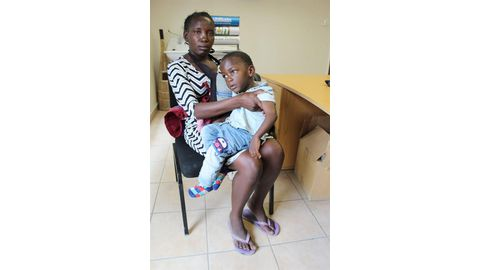 Woman seeks wheelchair for disabled child