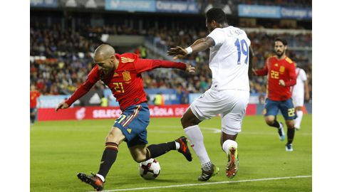 Five-star Spain thrash Costa Rica