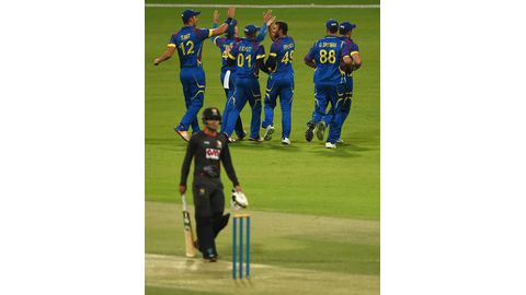 Fielding costs Namibia as UAE clinch victory