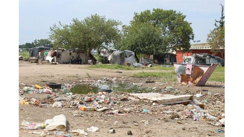 Grootfontein drowns in rubbish