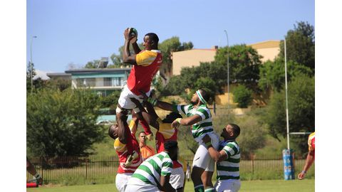 Exciting                  rugby drama thrills