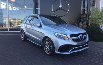 2016 Mercedes Benz AMG GLE-63 S