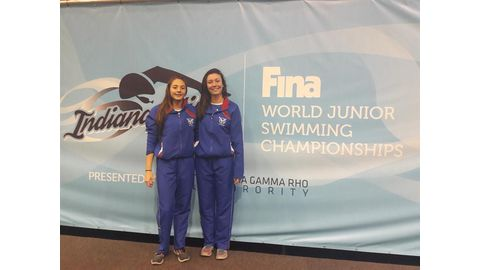 Stergiadis breaks national swimming records