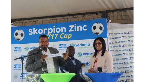 Youngsters grateful for Skorpion Zinc Cup