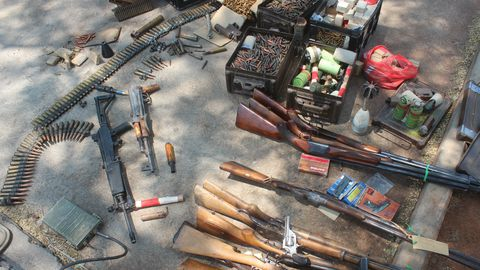 Weapons amnesty extended