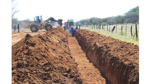NamWater project at Kalkfeld progressing