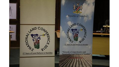 Expropriation on land conference agenda