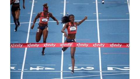 Wimbley wins 400m women's title at US nationals