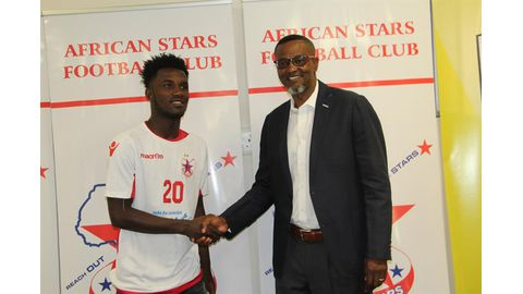 Youssouf here to 'win everything'