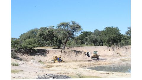 Sand mines to be guarded
