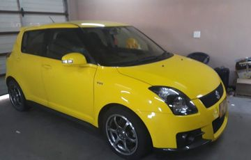 2010 Suzuki Swift Sport 1.6 Yellow