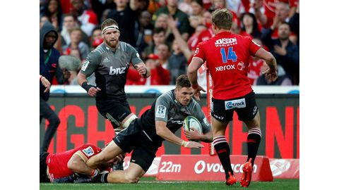 Lions stunned by Crusaders