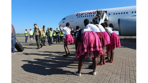 Namibia grows in popularity among Germans
