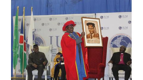 Nambala sworn in as IUM chancellor