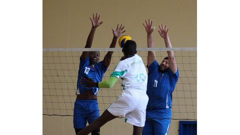 Volleyball action heats up countrywide