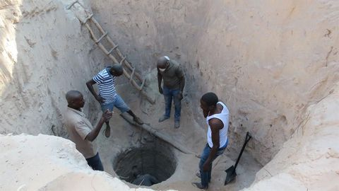 Well diggers were warned - Shilongo