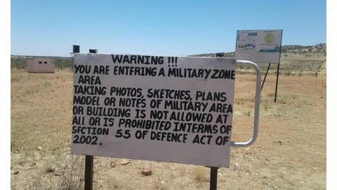 Army takes over private shooting range