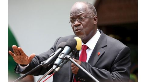 Tanzania's Magufuli rejects calls to extend presidential term