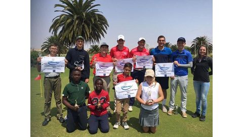 Young golfers thrill