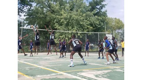 Volleyball league in full swing