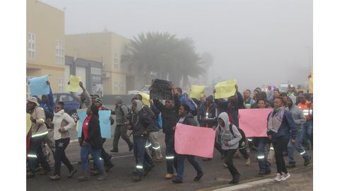 Aggrieved LHU workers up in arms