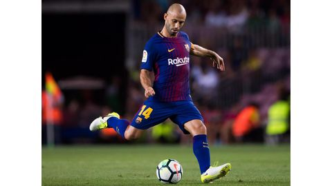 Mascherano leaves Barcelona, linked with China switch