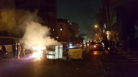 Iranians take to the streets