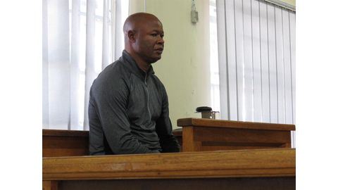 Christmas behind bars for Moussongela