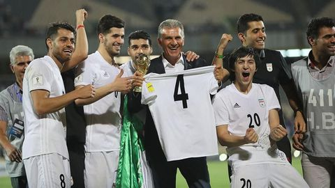 Iran qualify for 2018 World Cup finals